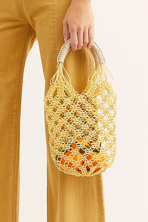 Jelly Plastic Basket Bag