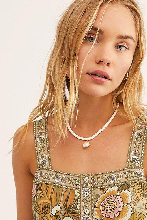 Surf Pendant Necklace