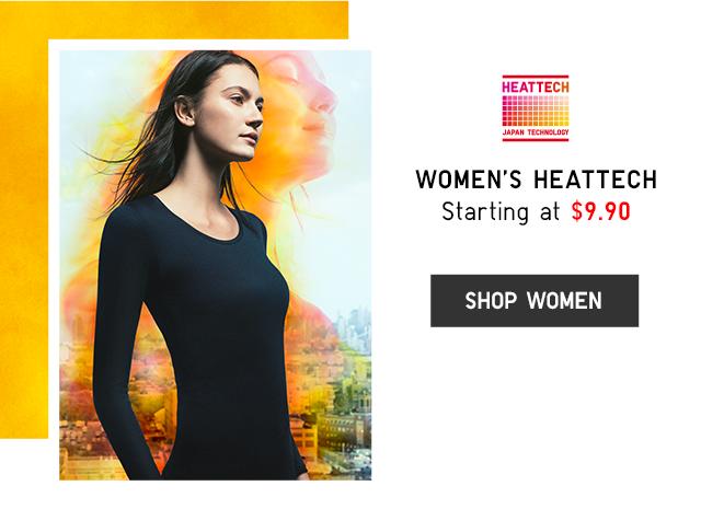 WOMEN'S HEATTECH STARTING AT $9.90 - SHOP WOMEN