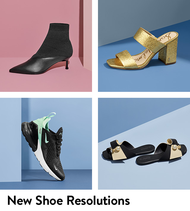 Shop new women's shoes including booties, sandals, sneakers and more.