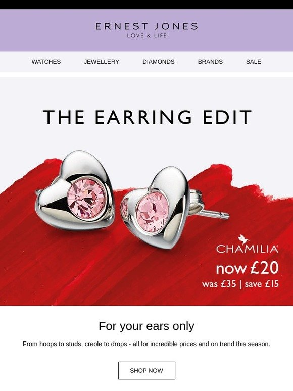 7eee8a35f Ernest Jones UK: For your ears only | Milled
