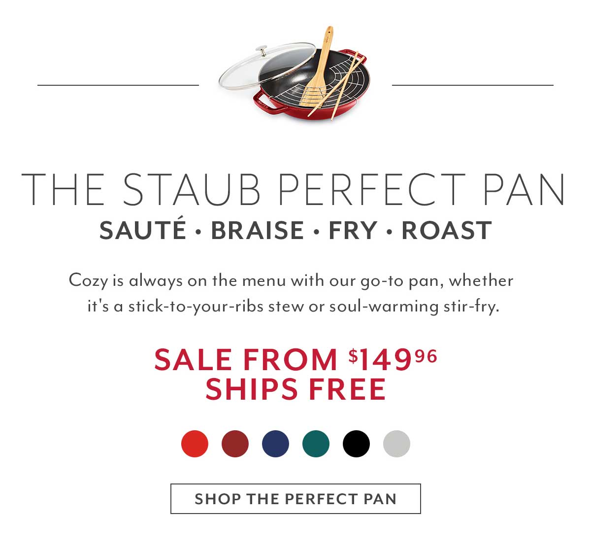 The Staub Perfect Pan