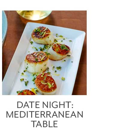 Date Night: Mediterranean Table