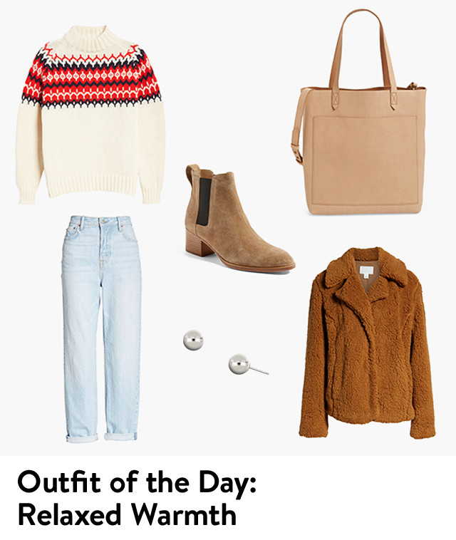 Outfit of the day: relaxed warmth