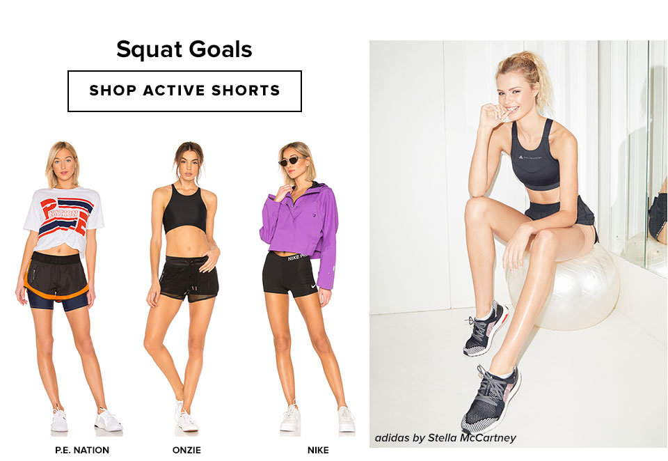 Squat Goals. Shop shorts.