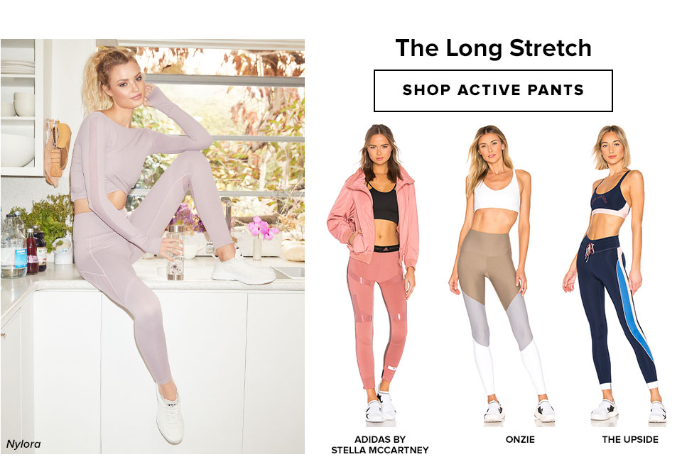 The Long Stretch. Shop pants.