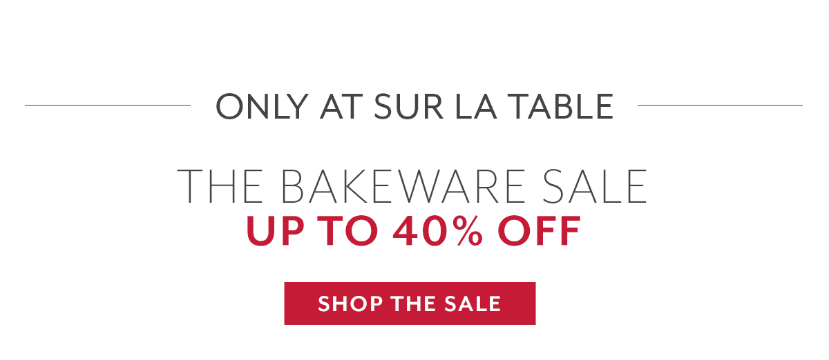 The Bakeware Sale