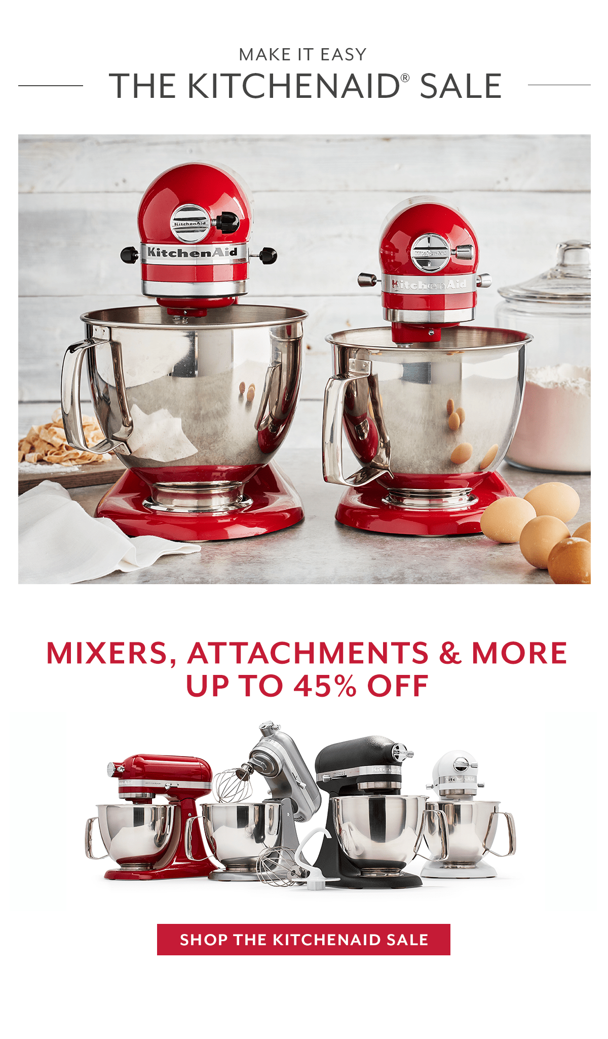 The KitchenAid Sale