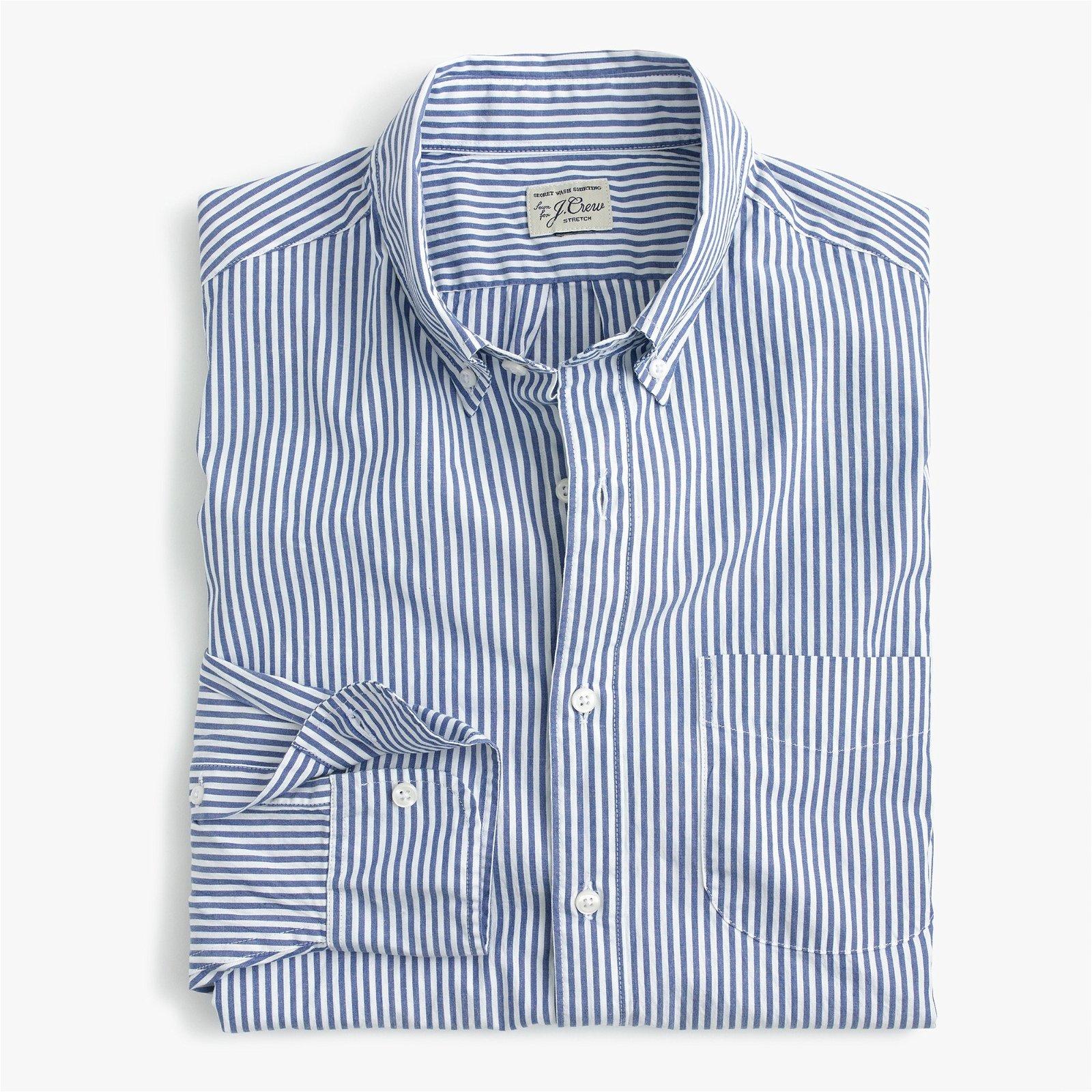 Classic Stretch Secret Wash shirt in poplin