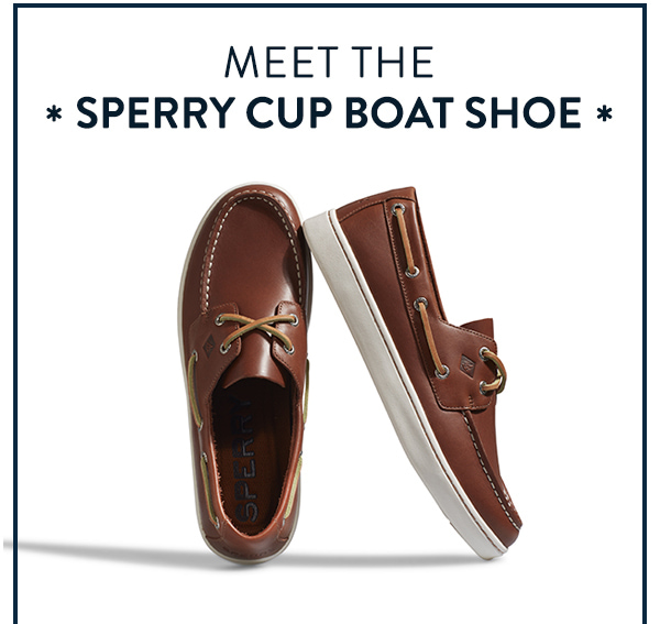 Introducing The Sperry Cup Boat Shoe
