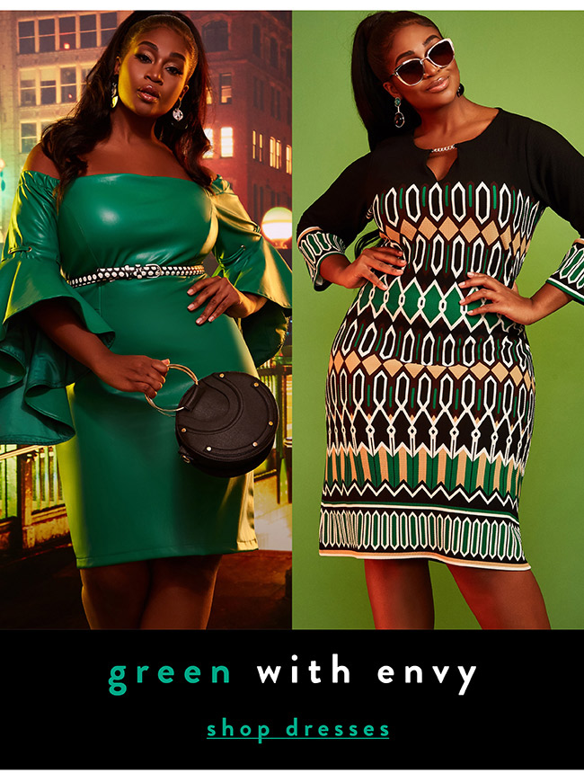 Green with envy - Shop Now