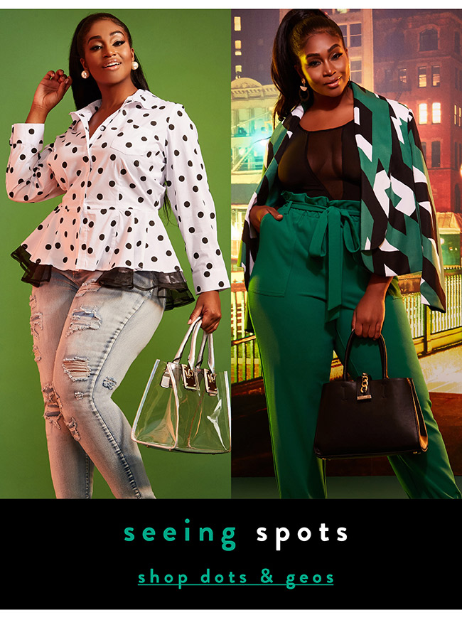 Seeing spots - Shop Now