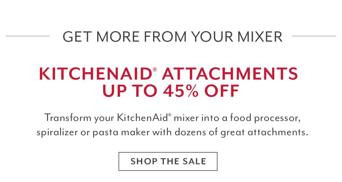 KitchenAid® Attachments Sale