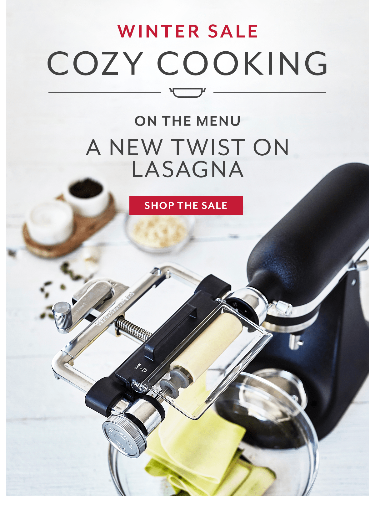 Cozy Cooking • A New Twist on Lasagna