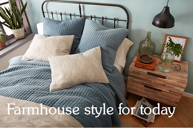 Shop our farmhouse style furniture.