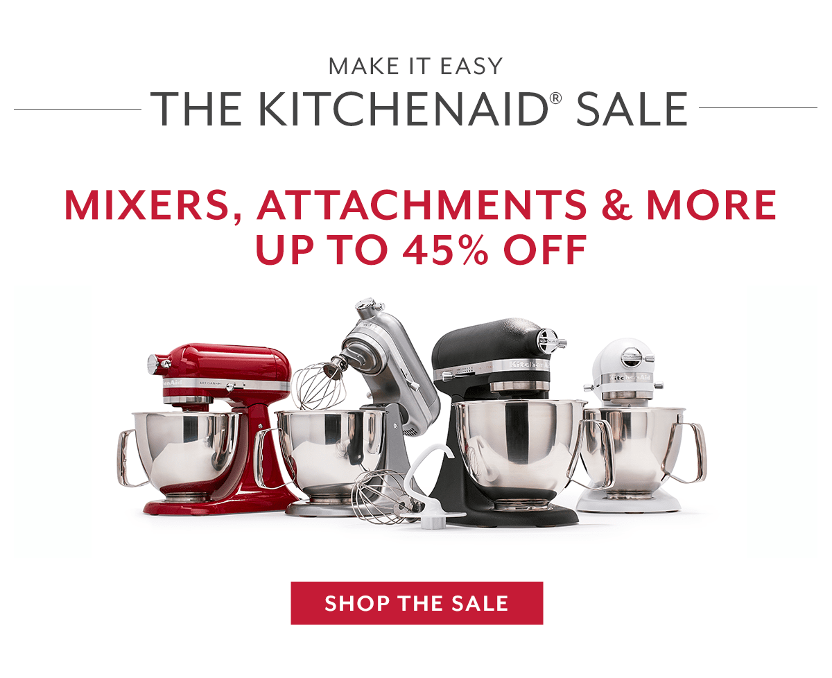The KitchenAid® Sale