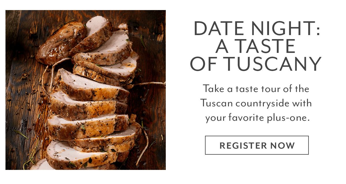 Class - Date Night • A Taste of Tuscany