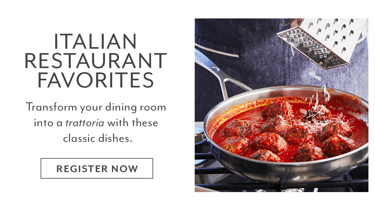 Class - Italian Restaurant Favorites