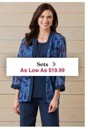 Shop Women's Sets!