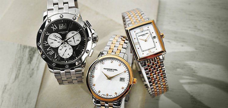 Men's Classic Watches With Raymond Weil