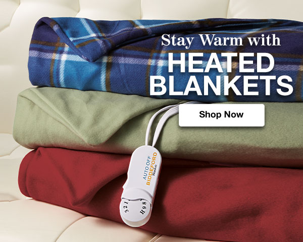 Shop Heated Blankets!