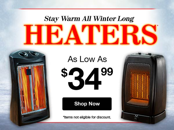 Shop Heaters!