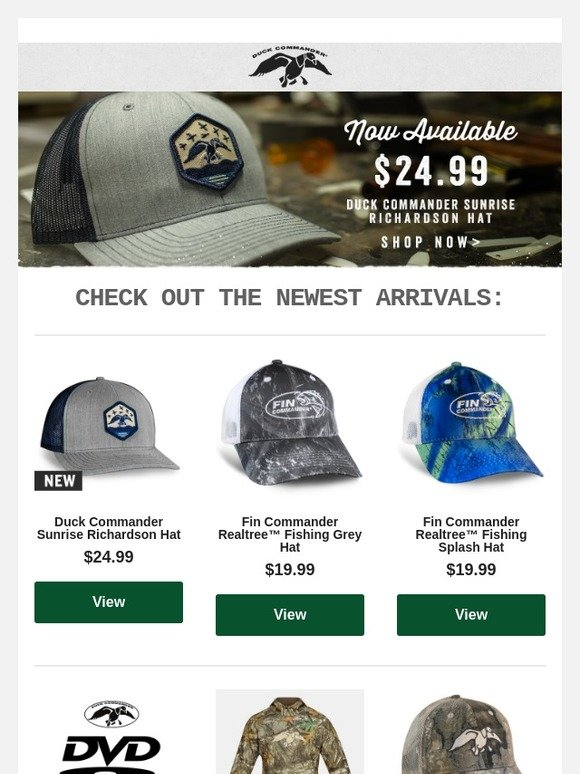 2ab1bde351b Official Duck Commander Outlet Store  New Arrival