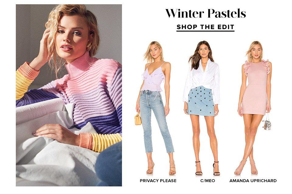 Winter Pastels. Shop Now.