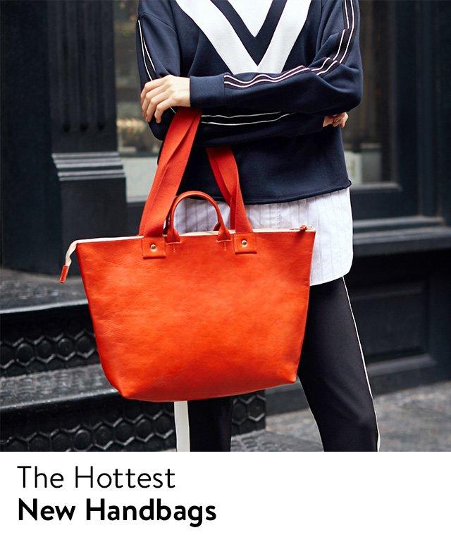 New women's handbags.