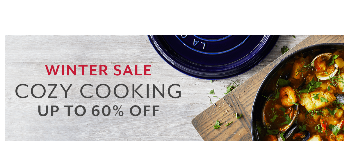 Winter Sale • Cozy Cooking