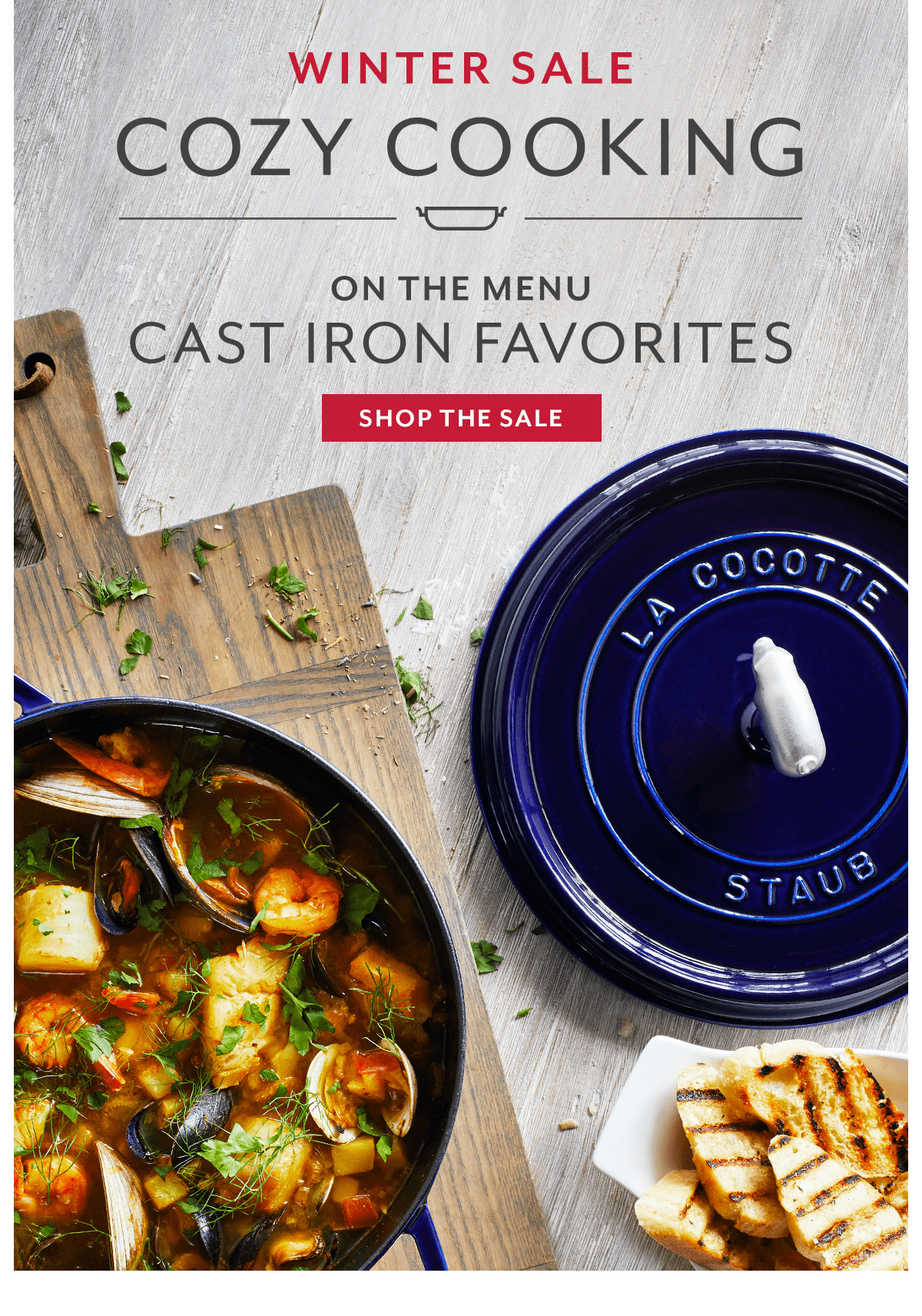 Cozy Cooking • Cast Iron Favorites