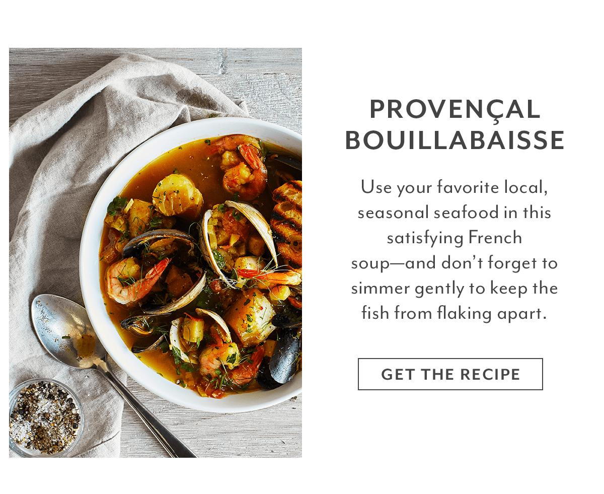 Recipe - Provençal Bouillabaisse