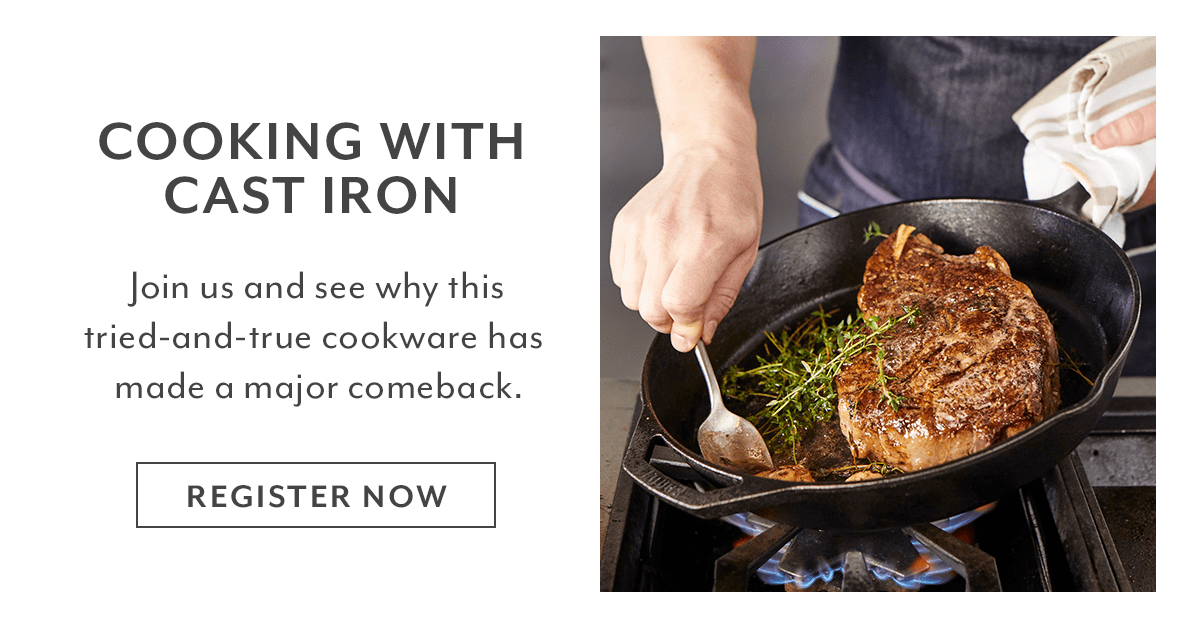 Class - Cooking with Cast Iron
