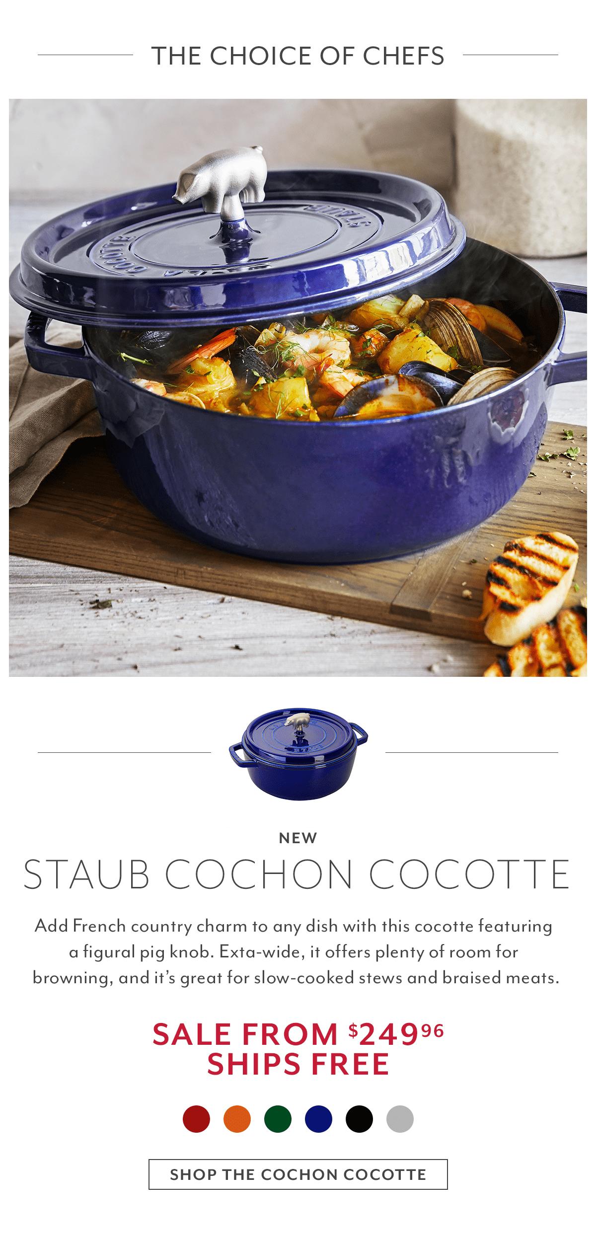 Staub Cast Iron Cochon Cocotte