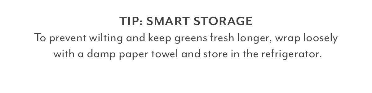 Tip - Smart Storage
