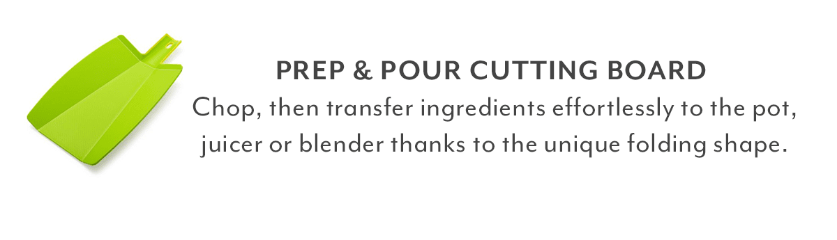 Prep & Pour Cutting Board