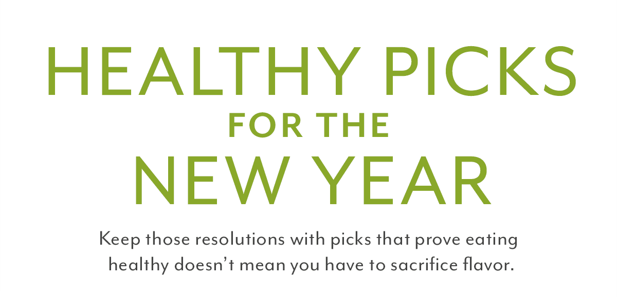 Healthy Picks for the New Year
