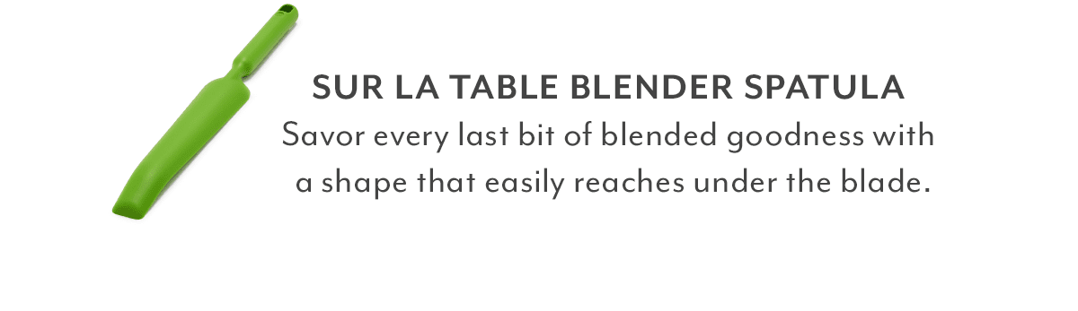 Sur La Table Silicone Blender Spatula