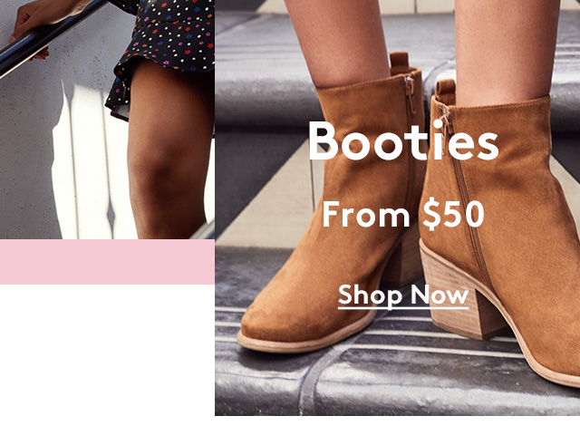 Booties | From 50% | Shop Now