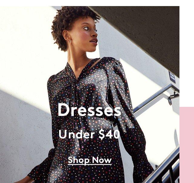 Dresses | Under $40 | Shop Now