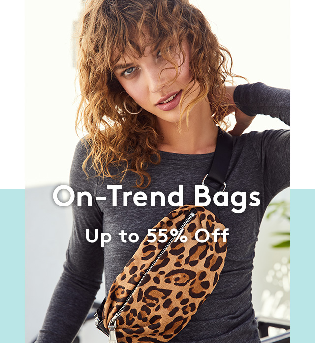 On-Trend Bags | Up to 55% Off