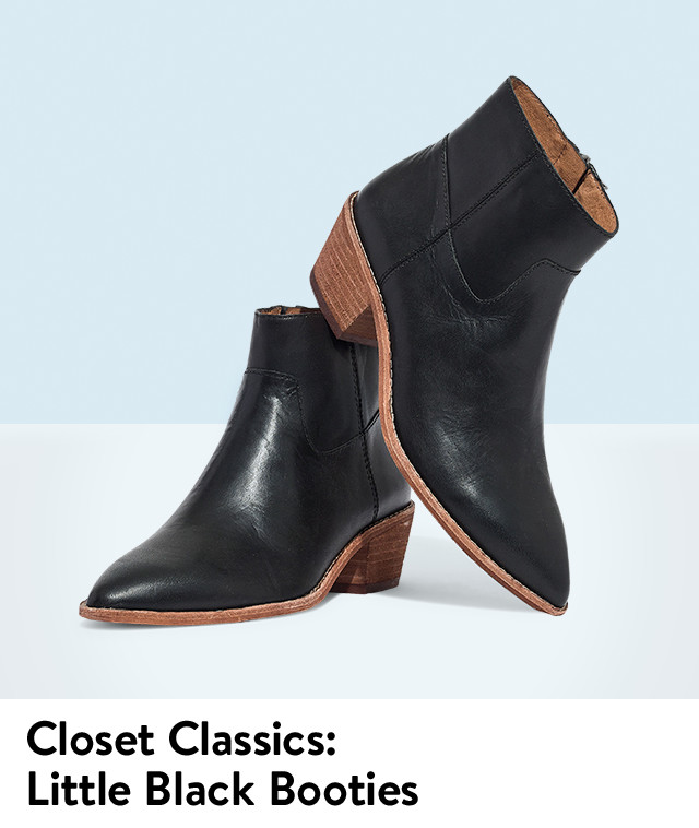 Shop booties in your size.