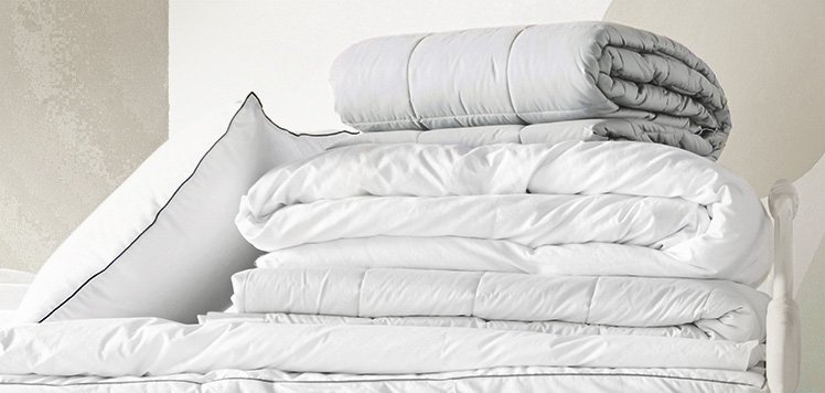 Down Comforters & More for Bundling Up