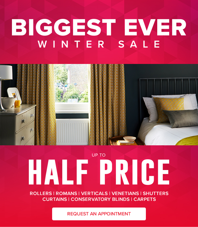 Hillarys Blinds Online >> Hillarys Blinds It S The Biggest Ever Winter Sale Milled