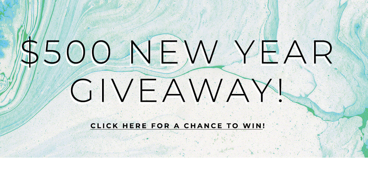 $500 New Year Giveaway!
