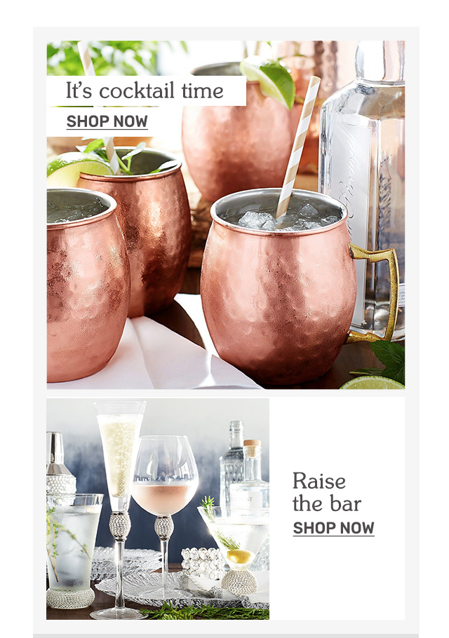 Shop drinkware.