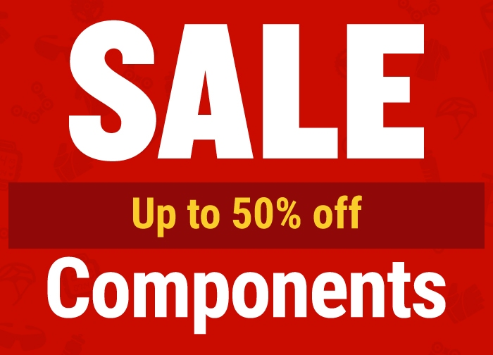 SALE: Up to  50% OFF Components