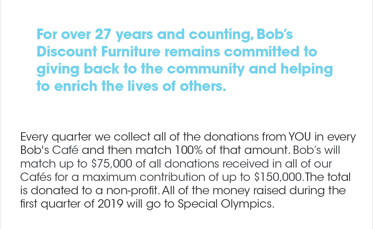 Bobs Discount Furniture Help Us Support Some Very Special Athletes
