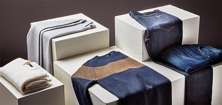 Denim & Sweater Staples