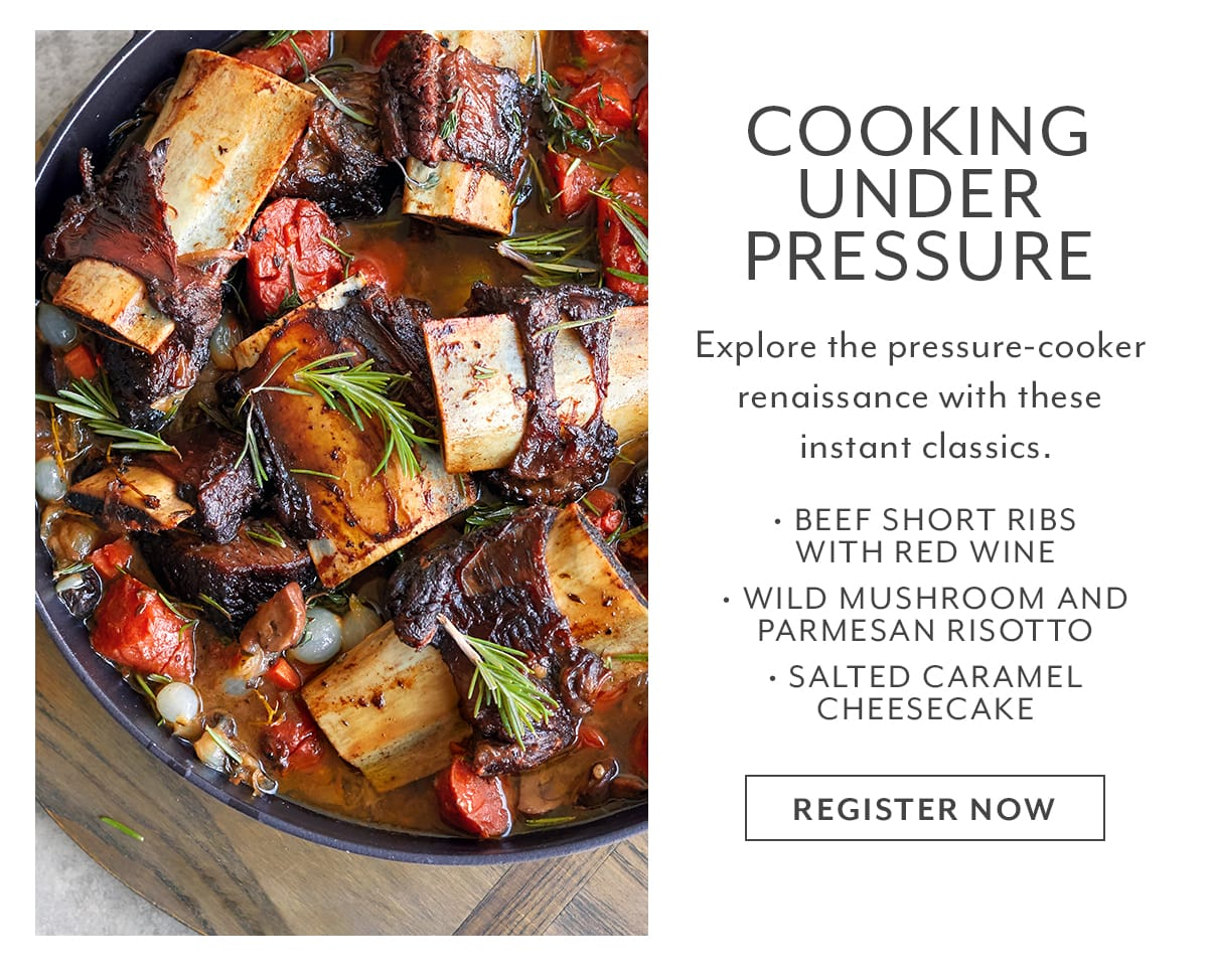 Class - Cooking Under Pressure